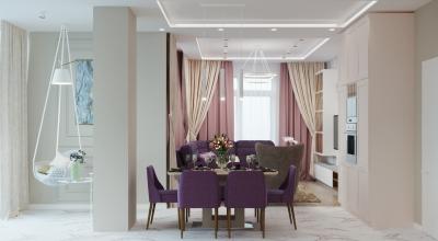 дизайн интерьера гостиной, интерьер гостиной, дизайн кухни-гостиной, объединенная кухня-гостиная, зона столовой, дизайн столовой зоны