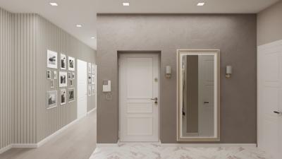 интерьер коридора, дизайн коридора, проект коридора, дизайн интерьера коридора