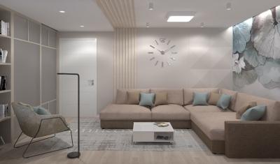 дизайн гостиной, дизайн интерьера гостиной, интерьер гостиной, гостиная в современном стиле, дизайн-проект гостиной.