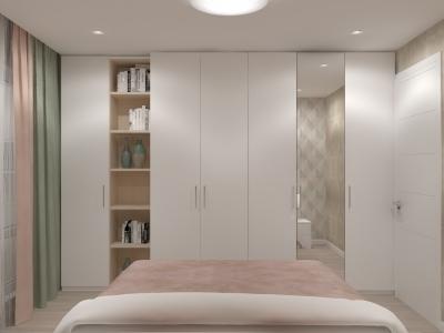дизайн спальни, дизайн интерьера спальни, интерьер спальни, спальня в современном стиле, дизайн-проект спальни, дизайн спальной комнаты.