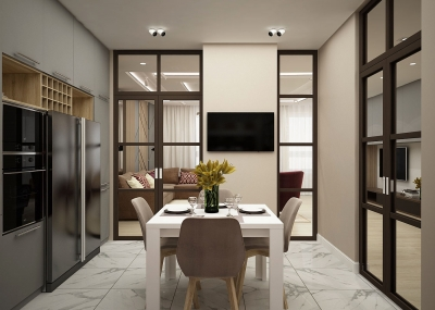 дизайн кухни, дизайн интерьера кухни, проект кухни, дизайн-проект кухни, кухня в современном стиле