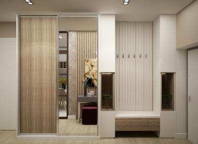 дизайн коридора, дизайн-проект коридора, проект коридора, современный дизайн коридора
