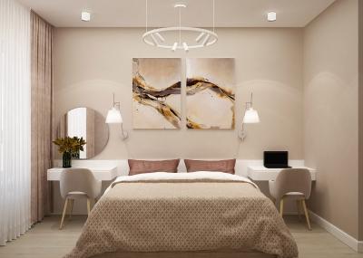 дизайн интерьера спальни, проект спальни, дизайн спальни, интерьер спальни