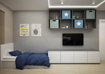 дизайн детской, интерьер детской, проект комнаты для подростка, дизайн-проект для подростка