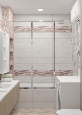 дизайн интерьера ванной, интерьер ванной, проект ванной, дизайн санузла.