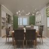 дизайн интерьера кухни, интерьер кухни, дизайн-проект кухни, кухня-гостиная в загородном доме, дизайн корпусной мебели, дизайн коттеджа, интерьер столовой, столовая зона, дизайн кухонного гарнитура