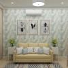 дизайн интерьера спальни, интерьер спальни, дизайн-проект спальни, спальня в загородном доме, дизайн корпусной мебели, дизайн коттеджа, спальня в стиле прованс