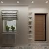 дизайн интерьера коридора, интерьер коридора, дизайн-проект коридора, коридор в загородном доме, дизайн корпусной мебели, дизайн коттеджа, коридор в стиле прованс.