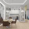 Дизайн интерьера столовой зоны. Ниши в интерьере.