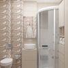 Дизайн-проект интерьера ванной.