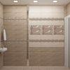 Дизайн интерьера туалета. Раскладка плитки в туалете.
