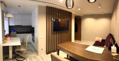 дизайн кухни-гостиной, интерьер гостиной, проект совмещенной кухни-гостиной, дизайн в хрущевке, дизайн гостиной в современном стиле.