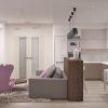 дизайн гостиной,дизайн интерьера гостиной, интерьер гостиной в современном стиле, зона тв, тумба тв, рабочая зона, рабочий стол в гостиной, барная стойка, световой дизайн, корпусная мебель в интерьере,