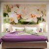 дизайн интерьер спальни, интерьер спальной комнаты, фотопечать в интерьере, корпусная мебель в интерьере, современный дизайн спальни.