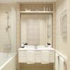 дизайн интерьера ванной комнаты, мозаика в интерьере,дизайн санузла