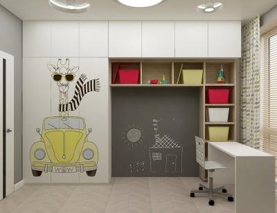 дизайн детской, дизайн интерьера детской, интерьер детской, детская в современном стиле, дизайн-проект детской, дизайн детской комнаты, детская для мальчика, комната мальчика, дизайн детской для мальчика.