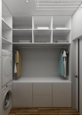 проект прачечной, прачечная комната в квартире, интерьер прачечной.