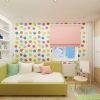 дизайн интерьера детской, дизайн-проект детской комнаты, интерьер детской для девочки, фотопечать в интерьере, корпусная мебель в интерьере, дизайн однокомнатной квартиры