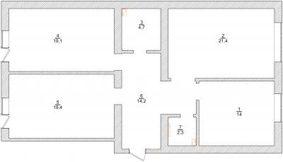 план обмерочный