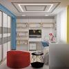 дизайн интерьера детской, интерьер детской комнаты для мальчика, дизайн рабочей зоны