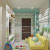 дизайн интерьера комнаты для девочки, фотопечать в интерьере, игровая зона в детской
